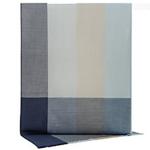 Buy Reiss Chancer Block Check Scarf, Blue Online at johnlewis.com
