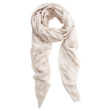 Buy Mint Velvet Astra Print Scarf, Camel Online at johnlewis.com