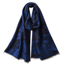 Buy East Brushed Jacquard Scarf Online at johnlewis.com