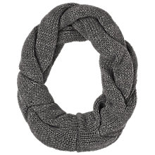 Buy Phase Eight Twist Wool Snood, Mole Online at johnlewis.com