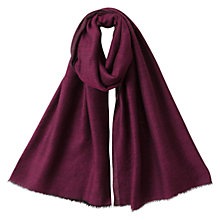 Buy East Two Tone Wool Shawl, Orchid Online at johnlewis.com