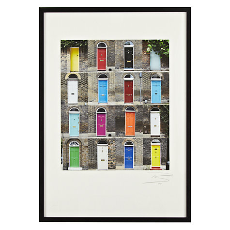 Buy Gallery One - Ben Mecklenburgh - 16 London Doors Framed Print, A3 (42 x 29.7cm) Online at johnlewis.com
