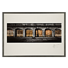 Buy Gallery One, Gregg Sedgwick - Six Boathouses Framed Print, A3 (29.7 x 42cm) Online at johnlewis.com
