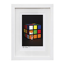 Buy Gallery One, Mr Kuu - If at First Time You Don't Succeed Signed Limited Edition Framed Print, 44 x 52cm Online at johnlewis.com