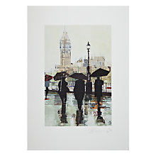 Buy Gallery One, Tom Butler - Southbank Reflection Mounted Print, A2 (59.5 x 42cm) Online at johnlewis.com