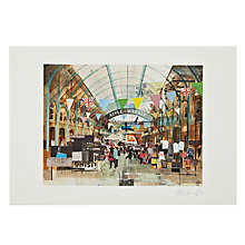 Buy Gallery One, Tom Butler - Apple Market Covent Garden Signed Limited Edition Mounted Print, A2 (59.5 x 42cm) Online at johnlewis.com