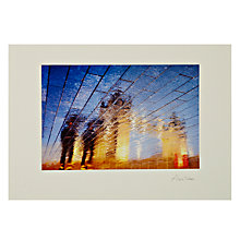 Buy Gallery One, Alex Saberi - Golden Towers Mounted Print, A3 (29.7 x 42cm) Online at johnlewis.com