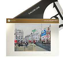 Buy Gallery One, Tom Butler - Piccadilly Circus I Mounted Print, A3 (42 x 29.7cm) Online at johnlewis.com