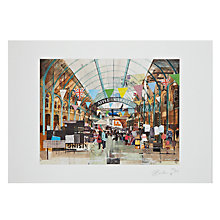 Buy Gallery One, Tom Butler - Apple Market Covent Garden Signed Limited Edition Mounted Print, A3 (42 x 29.7cm) Online at johnlewis.com