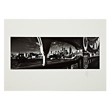 Buy Gallery One, Gregg Sedgwick - The City From Tower Bridge Mounted Print, A2 (42 x 59.5cm) Online at johnlewis.com