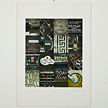 Buy Gallery One, Ben Mecklenburgh - Richmond Green Mounted Print, A2 (59.5 x 42cm) Online at johnlewis.com