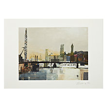Buy Gallery One, Tom Butler - Landmark Silhouettes Mounted Print, A2 (59.5 x 42cm) Online at johnlewis.com