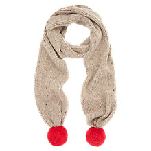 Buy NW3 by Hobbs Pom Pom Scarf Online at johnlewis.com