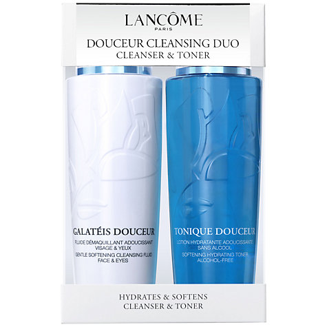 Buy Lancôme Douceur Cleanser and Toner Duo Set Online at johnlewis.com