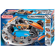 Buy Meccano Multimodels 20 Model Set Online at johnlewis.com
