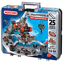 Buy Meccano Multimodels Super Construction Set Online at johnlewis.com