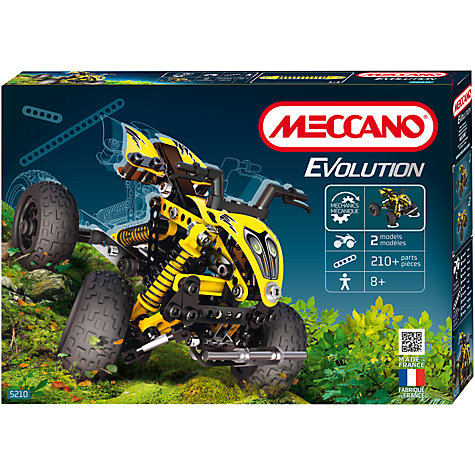 Buy Meccano Evolution Quad Bike Set Online at johnlewis.com
