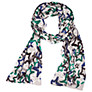 Buy Betty Barclay Star Print Scarf, Silver/Blue Online at johnlewis.com