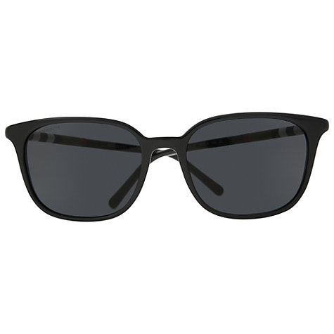 Buy Burberry  BE4144 300187 Square Sunglasses, Black Online at johnlewis.com