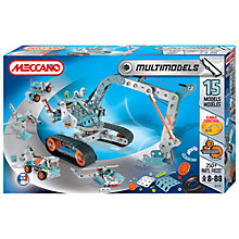Buy Meccano Multimodels 15 Model Set Online at johnlewis.com