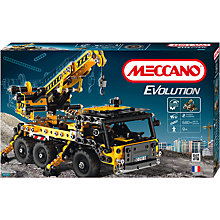 Buy Meccano Evolution Crane Truck Set Online at johnlewis.com