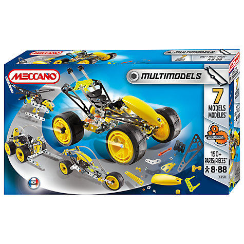 Buy Meccano Multimodels 7 Model Set Online at johnlewis.com