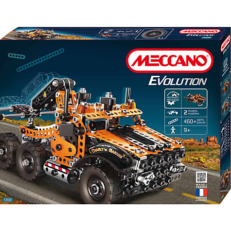 Buy Meccano Evolution Tow Truck Set Online at johnlewis.com