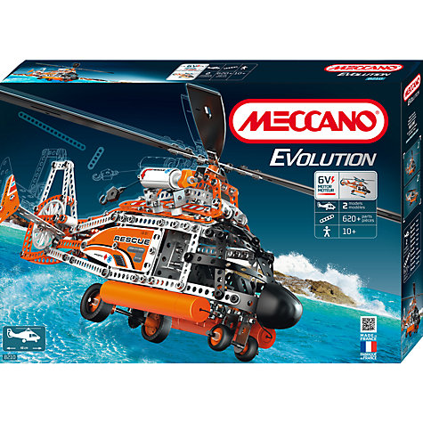 Buy Meccano Evolution Helicopter Set Online at johnlewis.com