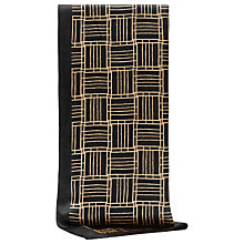 Buy Reiss Pippa Deco Print Silk Scarf, Black/Gold Online at johnlewis.com