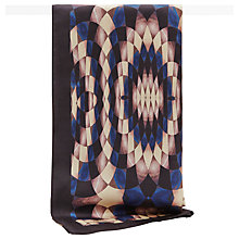 Buy Reiss Val Kaleidoscope Print Silk Scarf, Multi Online at johnlewis.com