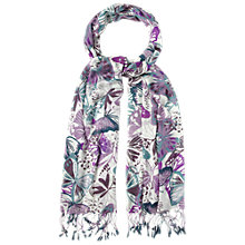 Buy White Stuff Painted Lady Butterfly Scarf, Multi Online at johnlewis.com
