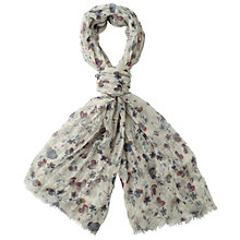 Buy Fat Face Large Floral Scarf Online at johnlewis.com