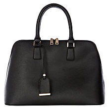 Buy Warehouse Cross Hatch Bag, Black Online at johnlewis.com