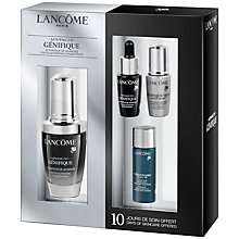 Buy Lancôme Advanced Génefique Skincare Set, 30ml Online at johnlewis.com