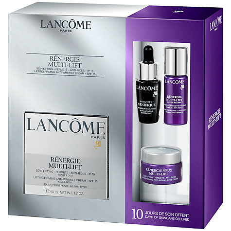 Buy Lancôme Renergie Multi Lift Skincare Gift Set Online at johnlewis.com