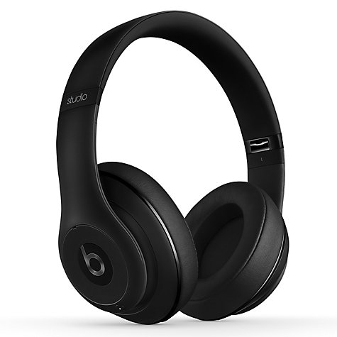 Buy Beats™ by Dr. Dre™ Studio Wireless Noise Cancelling Full-Size Bluetooth Headphones with Mic/Remote Online at johnlewis.com
