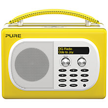 Buy Pure Evoke Mio Deutsche Grammophon DAB Digital Radio, Yellow Online at johnlewis.com