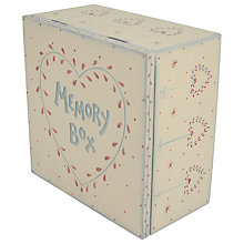 Buy East of India Memory Box, Cream Online at johnlewis.com