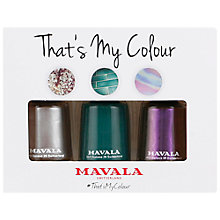 Buy MAVALA That's My Colour Trio Nail Polish Set, 3 x 5ml Online at johnlewis.com