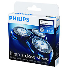 Buy Philips HQ8/50 Shaving Heads Online at johnlewis.com