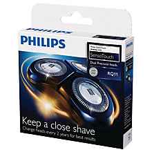 Buy Philips RQ11/50 SensoTouch Shaving Head Online at johnlewis.com
