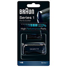 Buy Braun 11B Foil & Cutter Pack Online at johnlewis.com