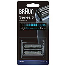 Buy Braun 32S Foil Cutter Cassette Online at johnlewis.com