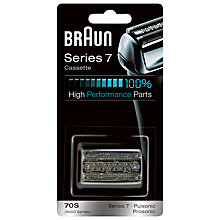 Buy Braun 70S Foil and Cutter Cassette Online at johnlewis.com