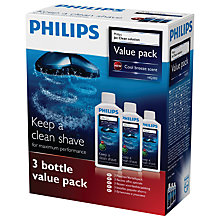 Buy Philips HQ203/50 Jet Clean Cleaning Solution Online at johnlewis.com