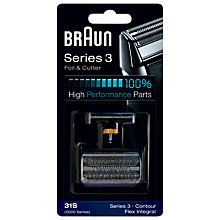 Buy Braun 31S Combi Foil and Cutter Pack Online at johnlewis.com