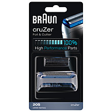 Buy Braun 20S Combi Foil and Cutter Pack Online at johnlewis.com