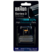 Buy Braun 31B Combi Foil and Cutter Pack Online at johnlewis.com