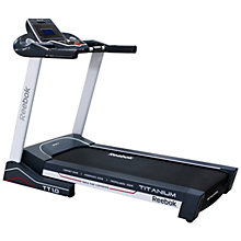 Buy Reebok Titanium TT1.0 Treadmill Online at johnlewis.com