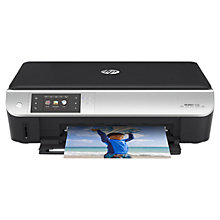 Buy HP Envy 5530 All-in-One Wireless Printer, Instant Ink Compatible + FREE HP Instant Ink Delivery Enrolment Kit, 100 Pages & HP Advanced Glossy 10x15 Photo Paper, 25 Sheets Online at johnlewis.com